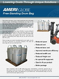 Free Standing Drum Bag Brochure