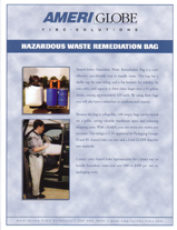 HAzardous Waste Bag Brochure