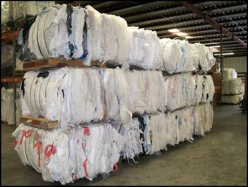 Picture of Bags compressed for shipping